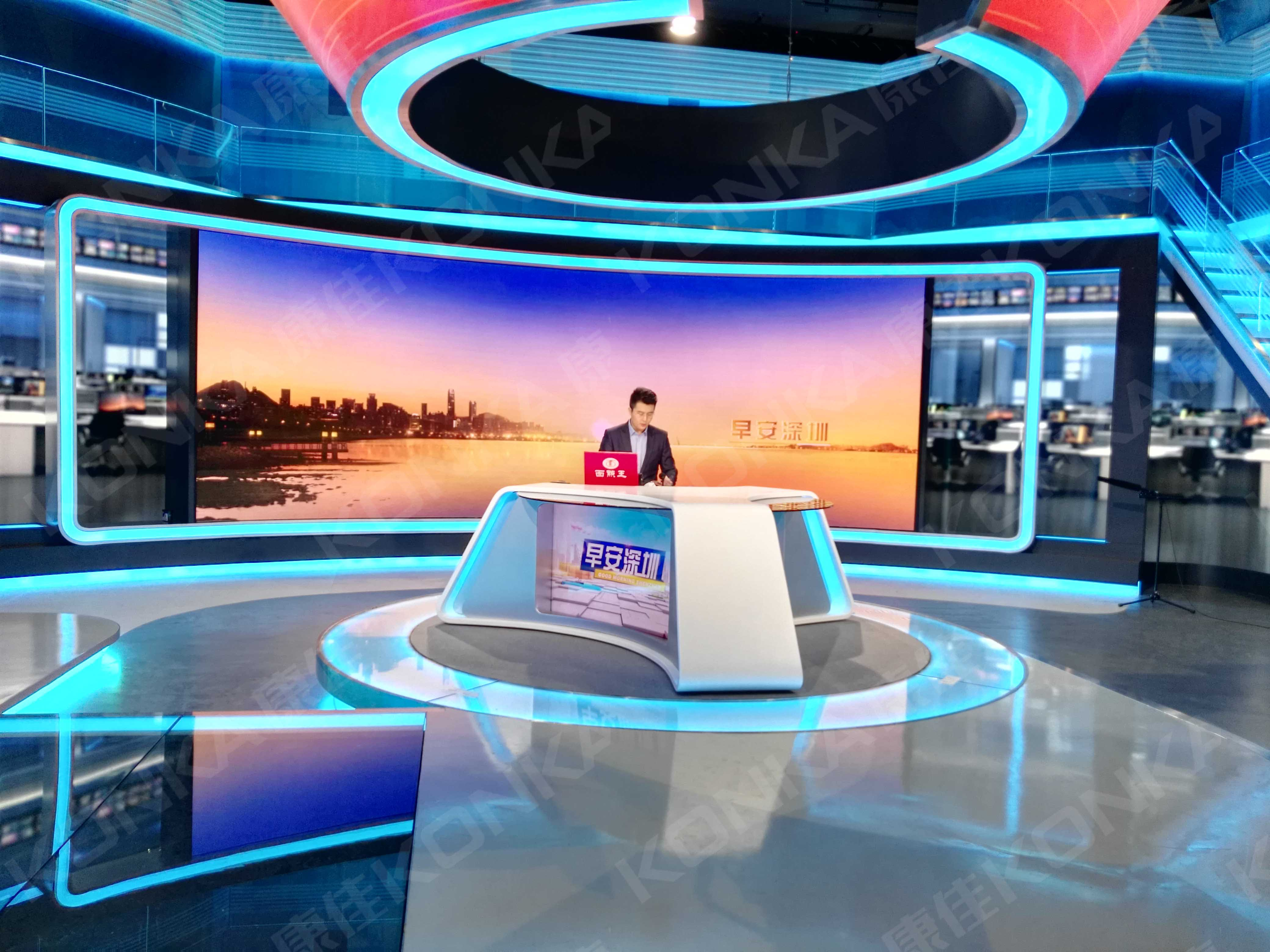 "<span style=""font-size:13.3333px;"">LED screen in studio</span>"