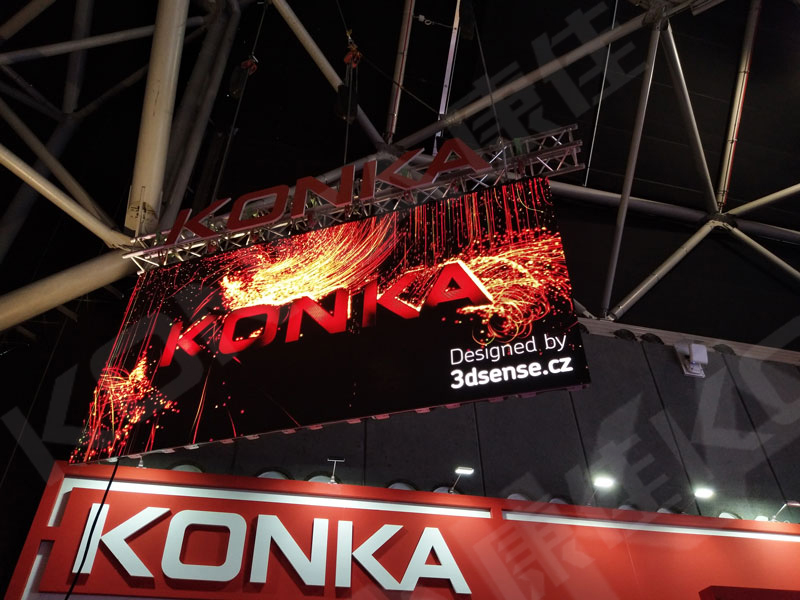 <span>LED screen at ISE 2019</span>